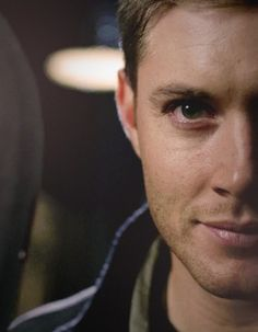 "Dean Winchester / Jensen Ackles - Supernatural --- ooo that's his ""you messed with the wrong person"" face!! you better RUNNNN!"