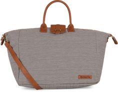 Ticking Stripe Weekender Bag