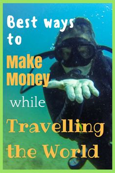Want to get paid to travel the world? There's more ways than one! Read all about the best ways to make money while travelling the world! #traveling #workingholiday #traveljob #budgettravel #backpacking