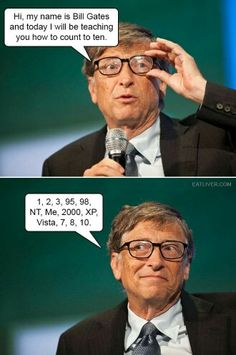 How to count to ten: Level- Bill Gates