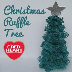 Christmas Ruffle Tre