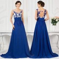 Modré nebo růžové večerní šaty s průhledným živůtkem - 0 Šaty Pre Družičky ecfce0e2b86