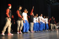 Applause for the boys and Justice Crew!!