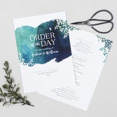 Let your guests know the running order of your wedding day with these pretty watercolour floral program cards from our Helena collection. Luxury Wedding Invitations, Wedding Programs, Wedding Stationery, Wedding Ceremony, Wedding Day, Watercolor Wedding, Floral Watercolor, Watercolour, Order Of The Day Wedding