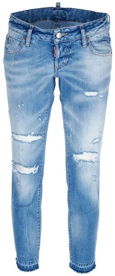 DSquared2 Distressed Skinny Jean - Lyst - My favorite all time jeans X - 3  COLOR 40d35c2ed40f