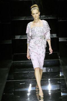 Elie Saab Spring 2008 Couture Fashion Show - Lindsay Ellingson