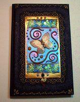 Butterfly blank book by MandarinMoon