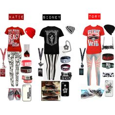 """""""Best Friends &` Bands."""" by ssmcdaniel on Polyvore"""