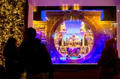 """This season's must-see holiday windows 