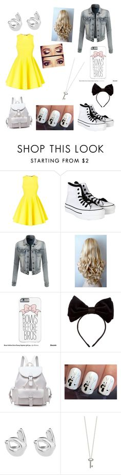 """#4"" by shilo-graese ❤ liked on Polyvore featuring AQ/AQ, Converse, LE3NO, Humör, Benoît Missolin and Roberto Coin"