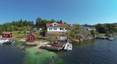Summertime in Tvedestrand, Norway ❤️