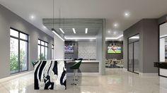 Clubroom Design #Allure #AspireApollo #Vidazme #InteriorDesign #InteriorArchitecture #ModernInterior #LobbyDesign #MultiFamily