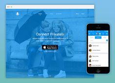 A great web design by Phuse, Toronto, Canada: Mobile App , Marketing Website , Telecommunication , iOS (Objective-C)