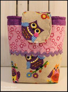 """Conjunto maternidade """"Girly Owls"""""""