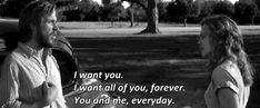 The Notebook                                                   will be around for along time...as a love classic