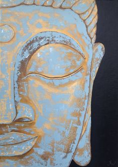 Buddha Drawing, Buddha Painting, Original Paintings, Original Art, Buddha Zen, Modern Impressionism, People Art, Acrylic Art, Art Art