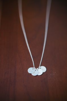 Your place to buy and sell all things handmade Dainty Necklace, Kustom, Initials, Buy And Sell, Charmed, Etsy Shop, Babies, Holidays, Sterling Silver