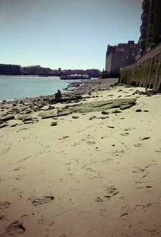 Wapping Beach by my mate Dave in The Dark, via Flickr (for his charity London Treasure Hunt)