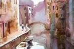 Milind Mulick paints water better than any artist I've seen.