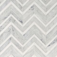 Avenza Honed&polished Chevron Fusion Marble Mosaics 12×11 3/8