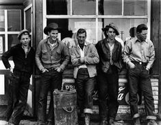 """Drug Store Cowboys,"" Photograph by Gordon Parks"