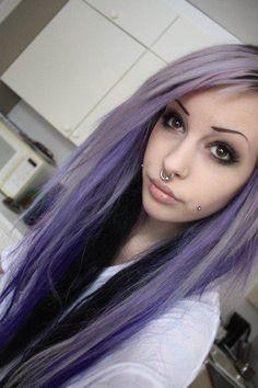 Angelica Sehlin a.k.a. Murderotic - Purple Highlights