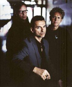 #DepecheMode 🇬🇧 ♥︎ #Dave #Martin #Alan #Fletch #incredible #astonishing #goodlooking #DM #team #devotee #loveforever  ·