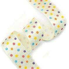 Because everyone needs a little polka dot ribbon in their life.
