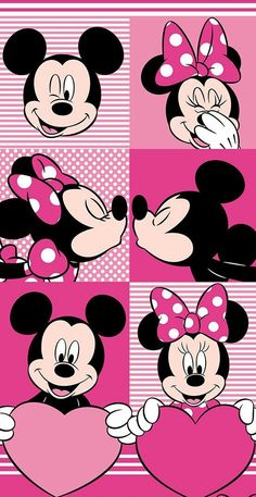 Image about wallpaper in mickey & minnie mouse💖 by A♡ LOVE LIVE Mickey Minnie Mouse, Arte Do Mickey Mouse, Mickey Mouse Y Amigos, Mickey Love, Mickey Mouse And Friends, Mickey Mouse Birthday, Mickey Mouse Wallpaper Iphone, Cute Disney Wallpaper, Cartoon Wallpaper