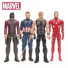 2018 Marvel Toys 30cm Avengers 3 Infinity War Thor Star Lord Captain America Ironman Figure Titan Hero Series Colletible Model  Price: $ 45.99 & FREE Shipping   #computers #shopping #electronics #home #garden #LED #mobiles