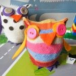 How to make a sock owl (no sewing needed!)