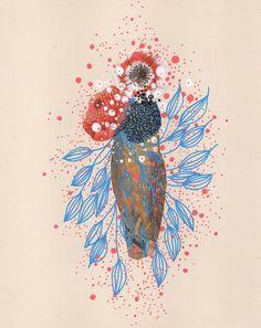 Sea Cobweb by Jenny Brown on Artfully Walls