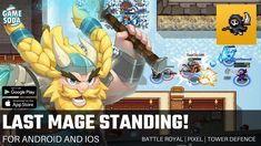 Last Mage Standing | Gameplay for Android and iOS | Battle Royal | Gamesoda - YouTube Free Mobile Games, Battle Royal, Ios, Android, Youtube, Youtubers, Youtube Movies