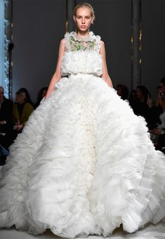 The Fluffiest, Over-the-Top Gowns from Giambattista Valli Haute Couture -  from InStyle.com