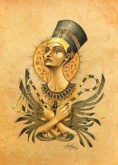 Nefertiti by LorenAssisi