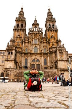 Santiago de Compostela - at the final point of the Camino Frances; see more on: www.facebook.com/okiemnomada