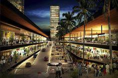 render conjunto plaza comercial - Buscar con Google