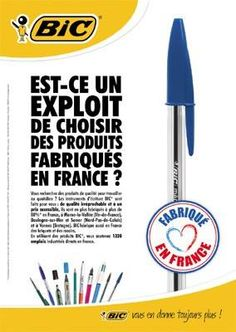 "BIC et le ""MADE IN FRANCE"""