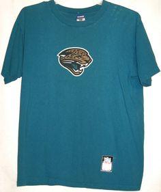 FREE U.S. Shipping! NFL Jacksonville Jaguars Team Logo Graphic Shirt! Adult Med. #Reebok #JacksonvilleJaguars