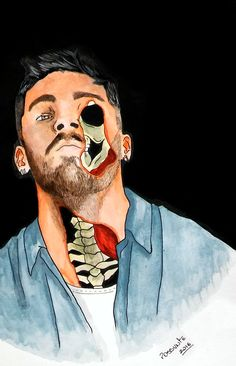 Shame is you won't say that to my face | ZAYN by @possvnte