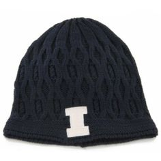 NCAA Illinois Women's Ella Knit Beanie by '47 Brand. $7.49. 100% acrylic. acrylic. A great way to stay warm while cheering for your favorite team. Beautiful cable knit pattern. NCAA Illinois Women's Ella Knit Beanie. Save 56% Off!
