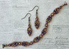 Linda's Crafty Inspirations: Free Beading Pattern: Elinor Bracelet