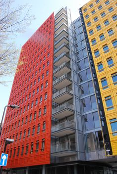 Case Study: Central St Giles, Residential - Glass balconies and metalwork   #balustrades #padcontracts #design #architecture #london #architecturalmetal #metalwork #glassbalcony #railings #metal #glassbalustrade #architecture #glassdesigns #stairs #externalstairs #handrail