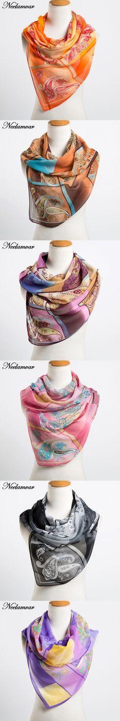 fashion women's chiffon cashew scarves new arrival 2016 Autumn and Winter casual wraps echarpe long silk feeling scarf ladies