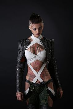 Mass Effect 3 - Subject Zero - Cosplay by Anna Ormeli ormeli. - Mass effect - Mass Effect Cosplay, Mass Effect Jack, Mode Steampunk, Steam Girl, Shadowrun, Will Turner, Best Cosplay, Awesome Cosplay, Cosplay Girls