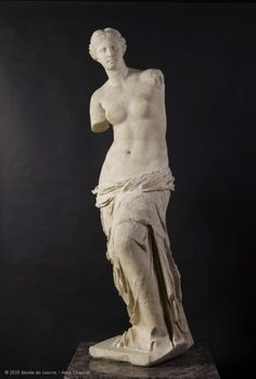 """Although not a French piece, the well known Aphrodite, known as the """"Venus de Milo"""" C. 100 BC now resides in the Louvre Museum in Paris"""