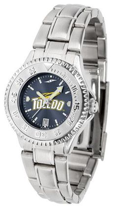 Ladies Toledo Rockets - Competitor Steel AnoChrome Watch