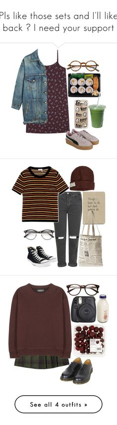 """Pls like those sets and I'll like back I need your support"" by rayame ❤ liked on Polyvore featuring R13, Tom Ford, Casetify, Krochet Kids, Topshop, Sonia Rykiel, Converse, Kate Spade, Dr. Martens and adidas Originals"