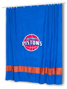 Detroit Pistons Shower Curtain