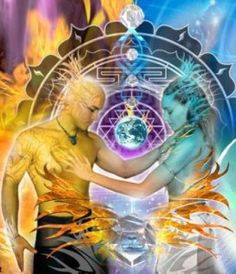 """Twin Flame Marriage, The Union of Souls"" - We are created as souls by the divine source, for us to experience duality on planet Earth, either as the masculine/feminine charge of one soul; You & your twin flame have a unique blueprint. We all have potential to attract our twin flame to us, because we have the same frequency of soul signature. Your frequency is unique just like a snowflake, & there is no one else in the entire universe who shares that uniqueness."